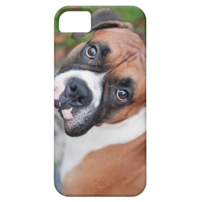 Cute boxer dog iPhone SE/5/5s case
