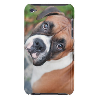 Cute boxer dog iPod touch case
