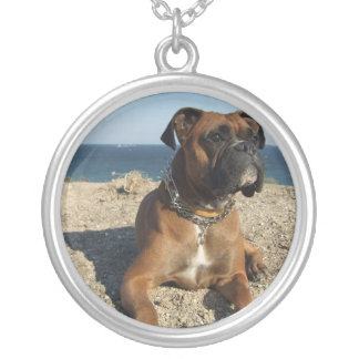 Cute Boxer Dog Necklace