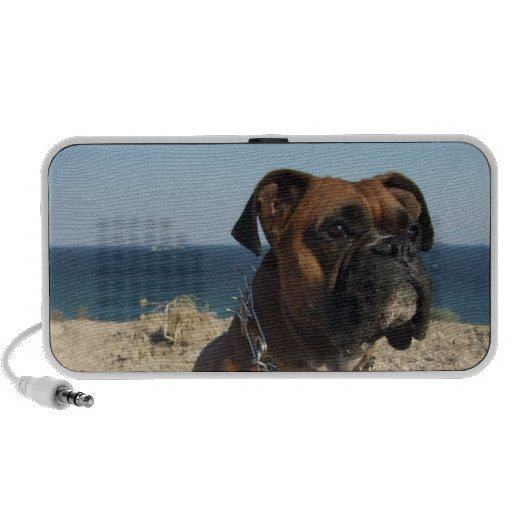 Cute Boxer Dog Speakers