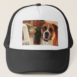 Cute Boxer Trucker Hat