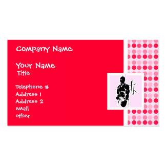 Cute Boxing Double-Sided Standard Business Cards (Pack Of 100)