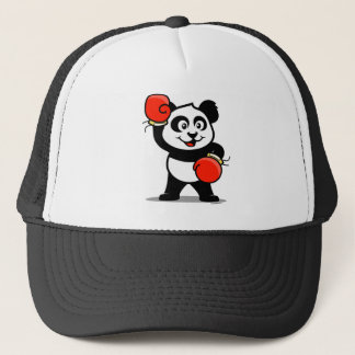 Cute Boxing Panda Trucker Hat