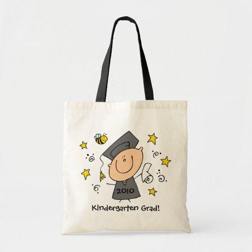 Cute Boy Grad Custom Budget Tote Bag