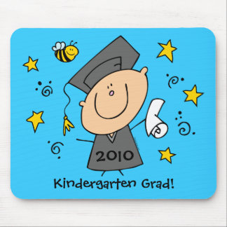 Cute Boy Grad Custom Mouse Pad