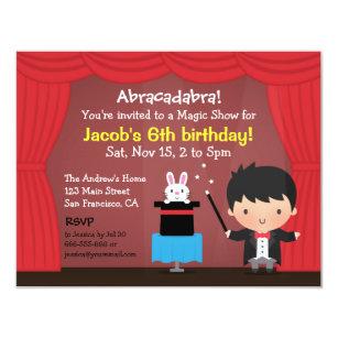 Boy Birthday Party Invitations Announcements Zazzle
