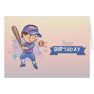 Baseball Birthday Greeting Cards Zazzle