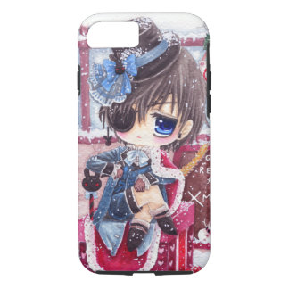 Cute boy with eye patch iPhone 8/7 case