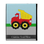 Cute Boy's Toy Dumptruck iPad Case