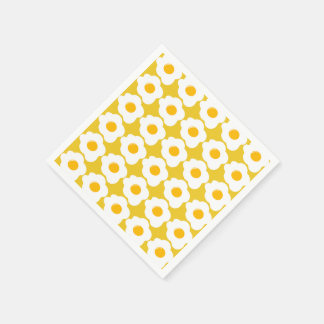 Cute Breakfast egg pattern gathering paper napkins