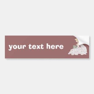 Cute Bride Bumper Sticker
