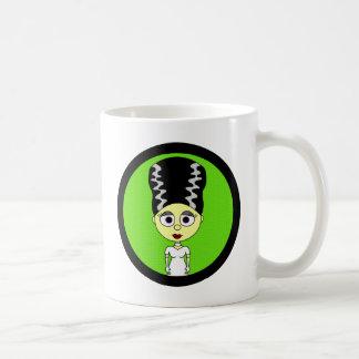 Cute Bride of Frankenstein Mug