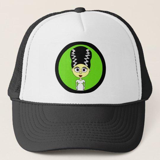 Cute Bride of Frankenstein Trucker Hat