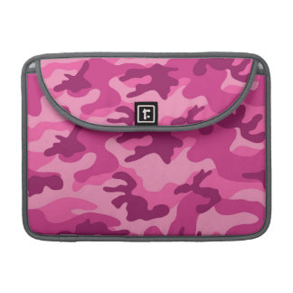 Cute Bright Pink Camo, Camouflage Sleeve For MacBook Pro