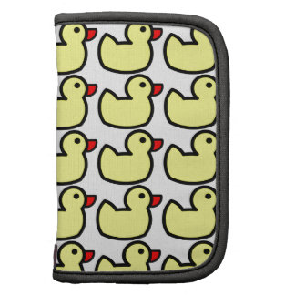Cute Bright Yellow Rubber Ducky Pattern Organizers
