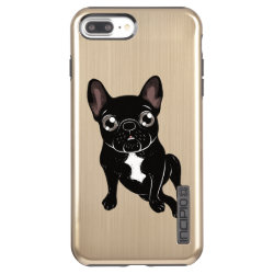 Incipio DualPro Shine iPhone 7 Plus Case with Bulldog Phone Cases design