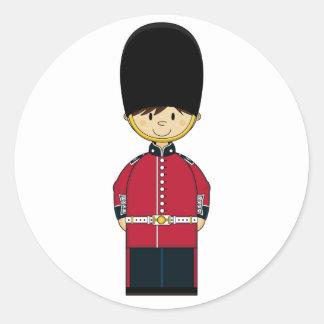 Cute British Royal Guard Sticker