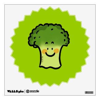 cute broccoli wall decal