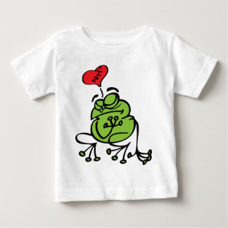 Cute Broken Heart, Anti Valentine's Day Frog Baby T-Shirt