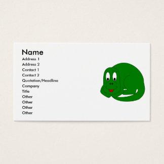 Cute Brontosaurus Business Card