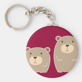 Cute Brother Bear Keychain