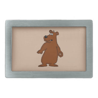 Cute brown bear design belt buckles