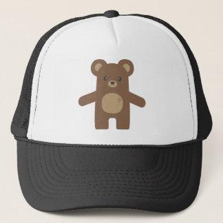 Cute Brown Bear Hug Trucker Hat