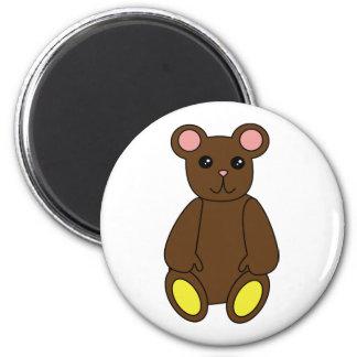 Cute Brown Bear Magnet