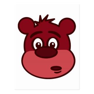 Cute Brown Bear Postcard