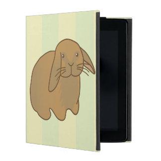 Cute Brown Bunny iPad Folio Case