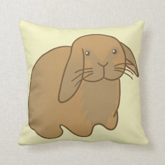 Cute Brown Bunny Pillows