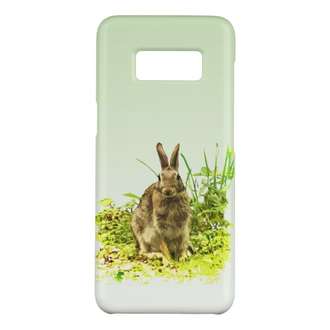 Cute Brown Bunny Rabbit Galaxy S8 Case