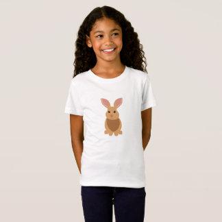 Cute Brown Bunny Rabbit Kid's T-shirt