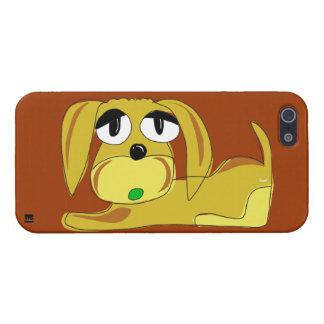 Cute Brown Dog iPhone 5 Case