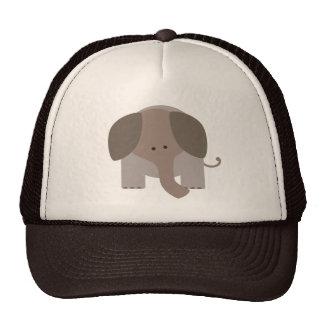 Cute Brown Elephant Trucker Hat