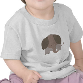 Cute Brown Elephant Shirts