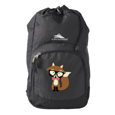heartlocked Cute Brown Fox Backpack
