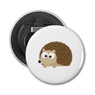 Cute Brown Hedgehog Bottle Opener