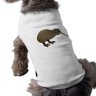 Cute Brown Kiwi from New Zealand Dog Clothes