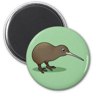 Cute Brown Kiwi from New Zealand Fridge Magnets