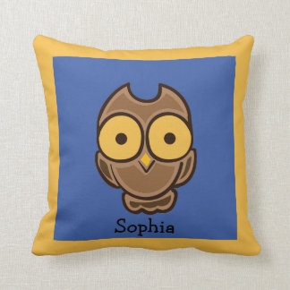 Yellow Blue And Brown Throw Pillows : Yellow Blue Brown Pillows - Decorative & Throw Pillows Zazzle