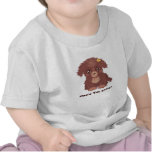 Cute Brown Puppy Infant T-Shirt
