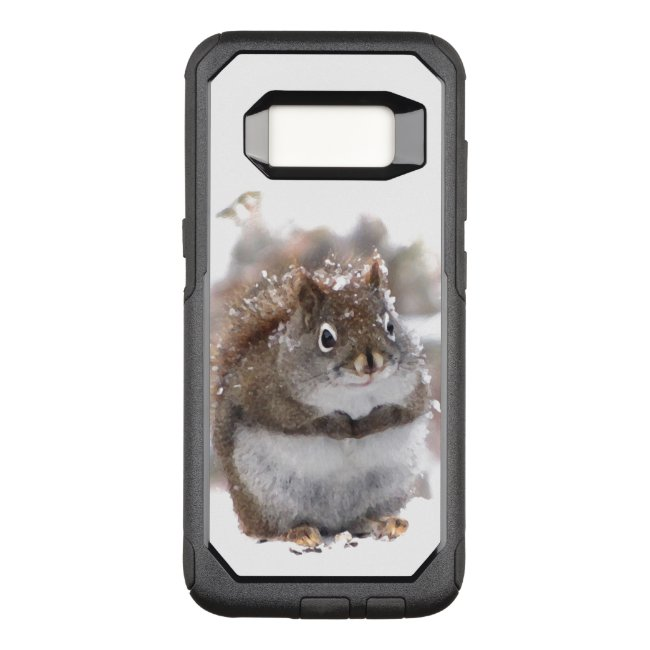 Cute Brown Squirrel OtterBox Galaxy S8 Case
