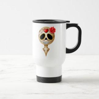 Cute Brown Sugar Skull Coffee Mugs