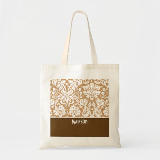 Cute Brown Tan Damask Bags