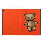 cute brown teddy bear iPad air covers