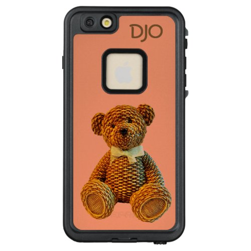 Cute Brown Wicker Teddy Bear LifeProof FRÄ iPhone 66s Plus Case