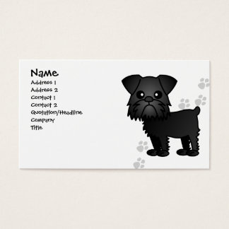 Cute Brussels Griffon Dog Business Card