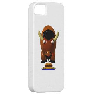 Cute Buffalo w/Beef on Weck & Buffalo Wings iPhone SE/5/5s Case