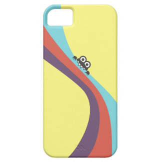 Cute Bug Bites Candy Colorful Stripes iPhone SE/5/5s Case